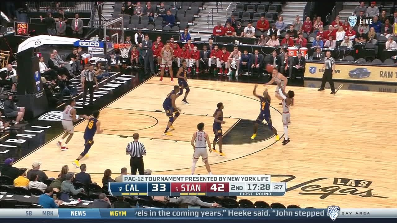 Davis calls bank on the 3-pointer for Stanford