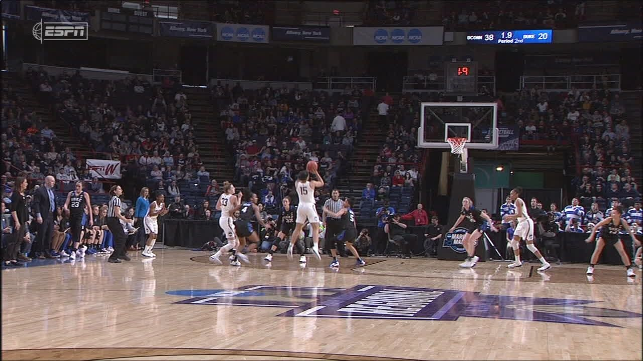 UConn's Williams sinks shot at buzzer