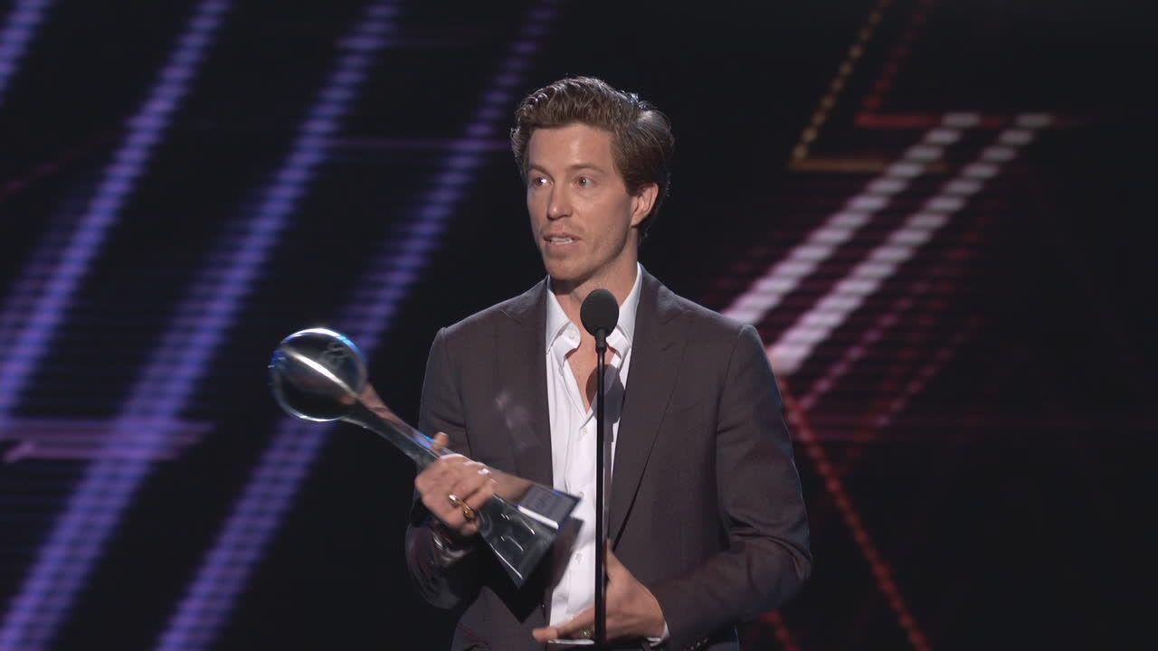 White takes home Best Olympic Moment award
