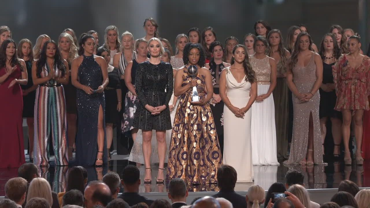 'Sister survivors' show powerful moment of solidarity