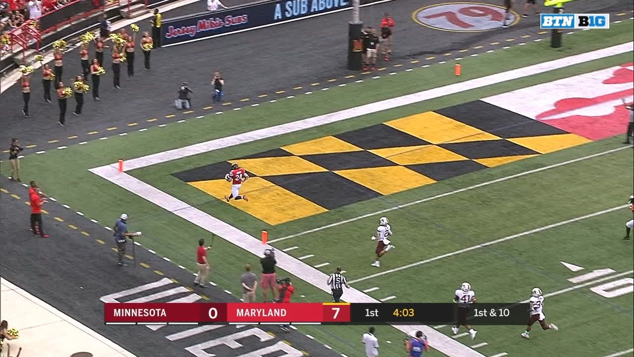 Johnson runs for 81-yard TD