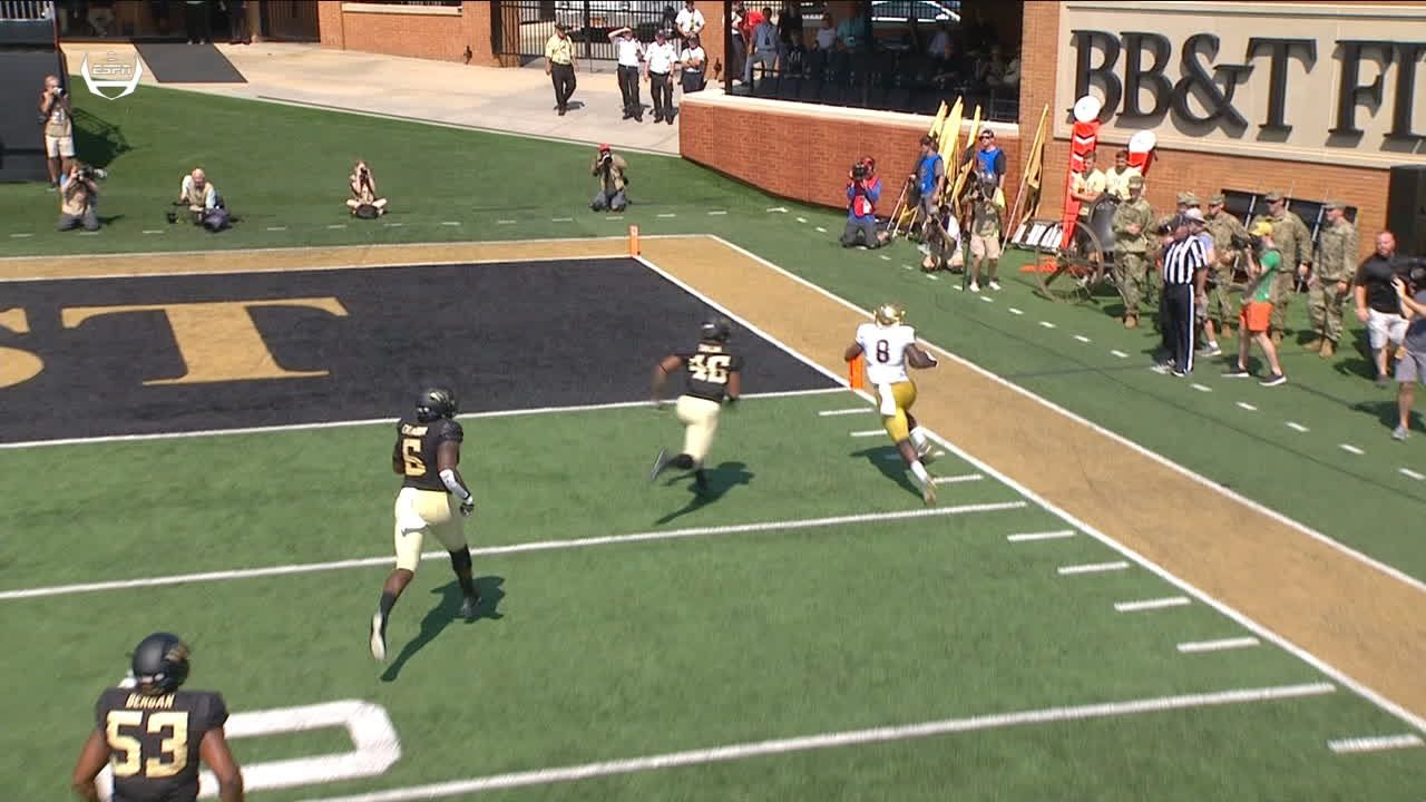 Jafar Armstrong run for 30 yds for a TD (Justin Yoon KICK)