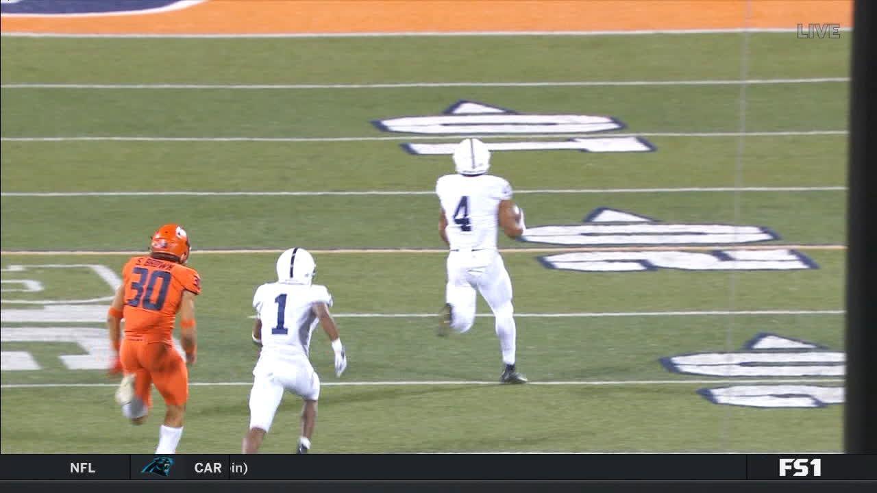 Slade breaks off 61-yard TD run
