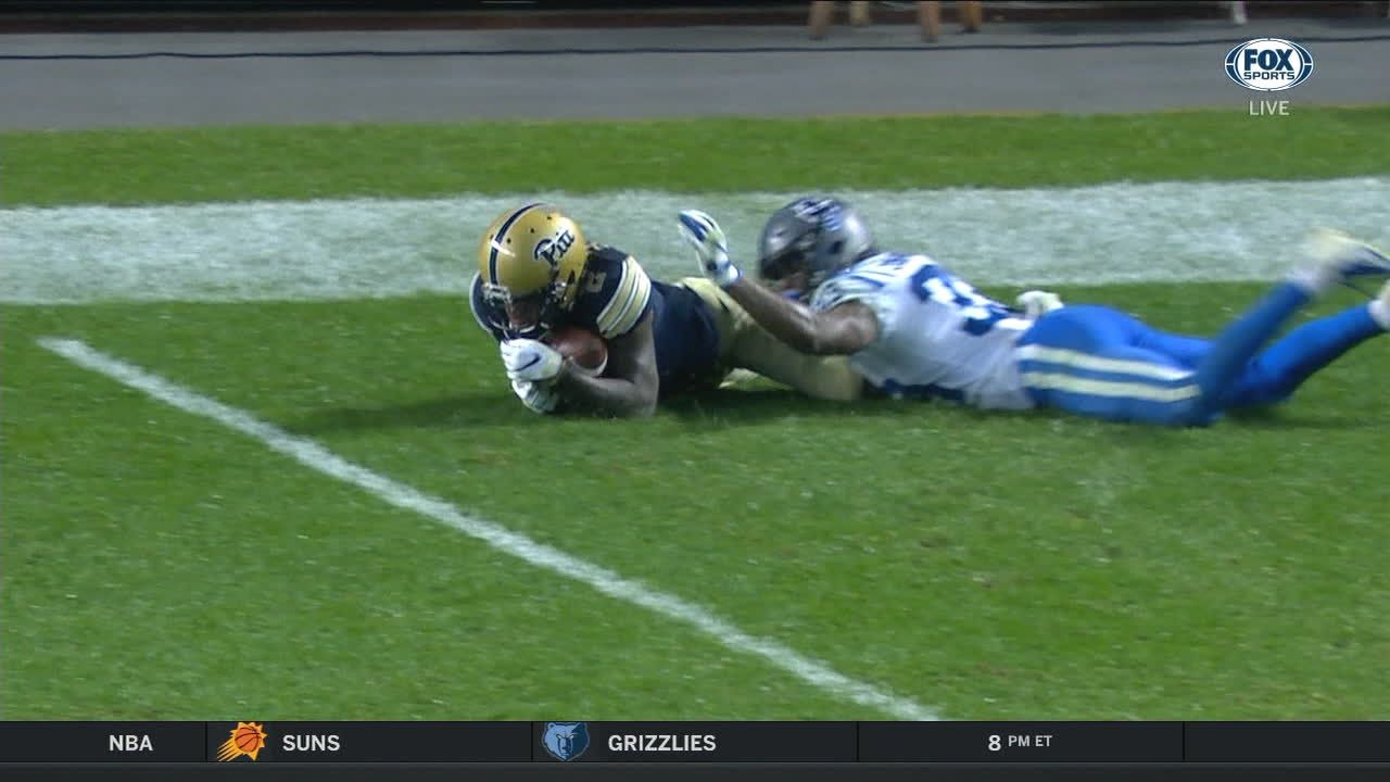 Pitt wins game in final seconds on gutsy 25-yard TD pass