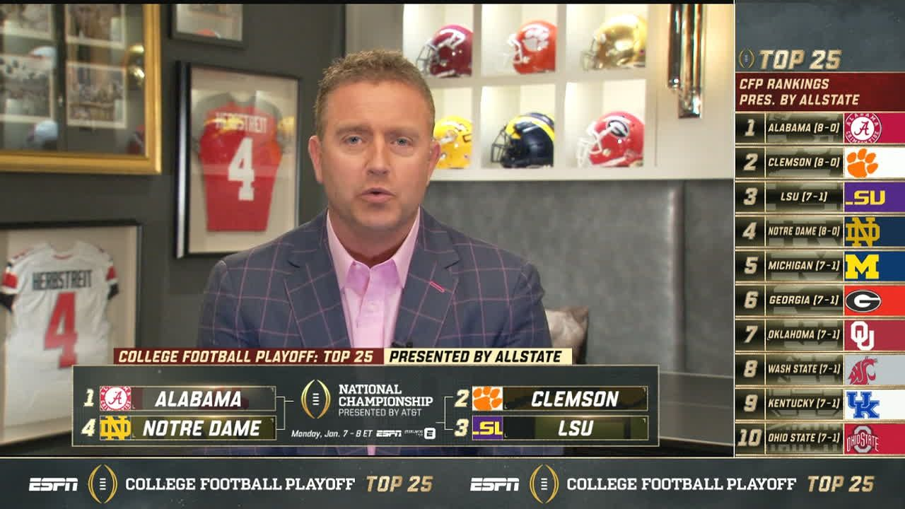 Herbstreit agrees with the Top 6