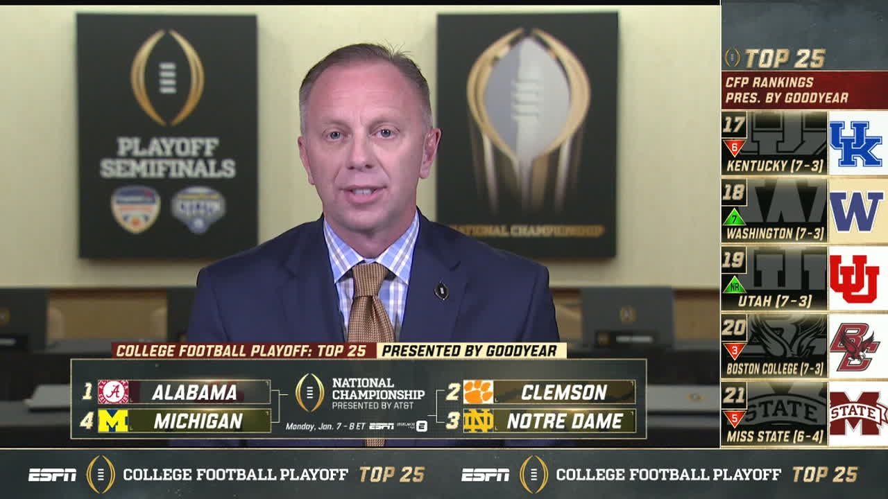 Mullens: Clemson and Alabama are very strong
