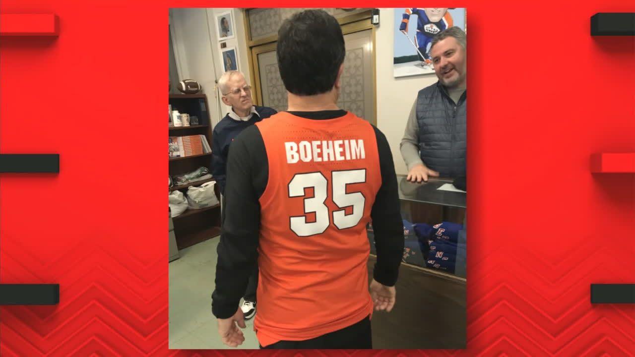 Investigating Boeheim's misspelled Syracuse jersey