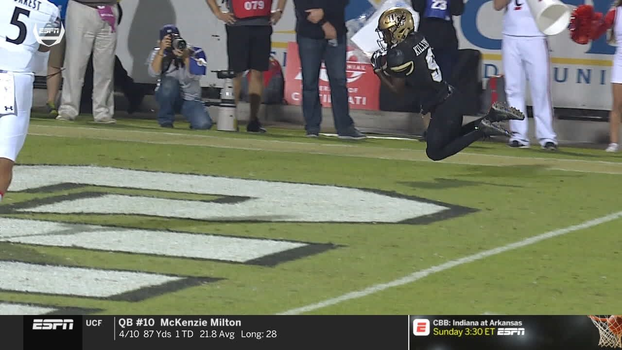 Killins makes diving TD grab