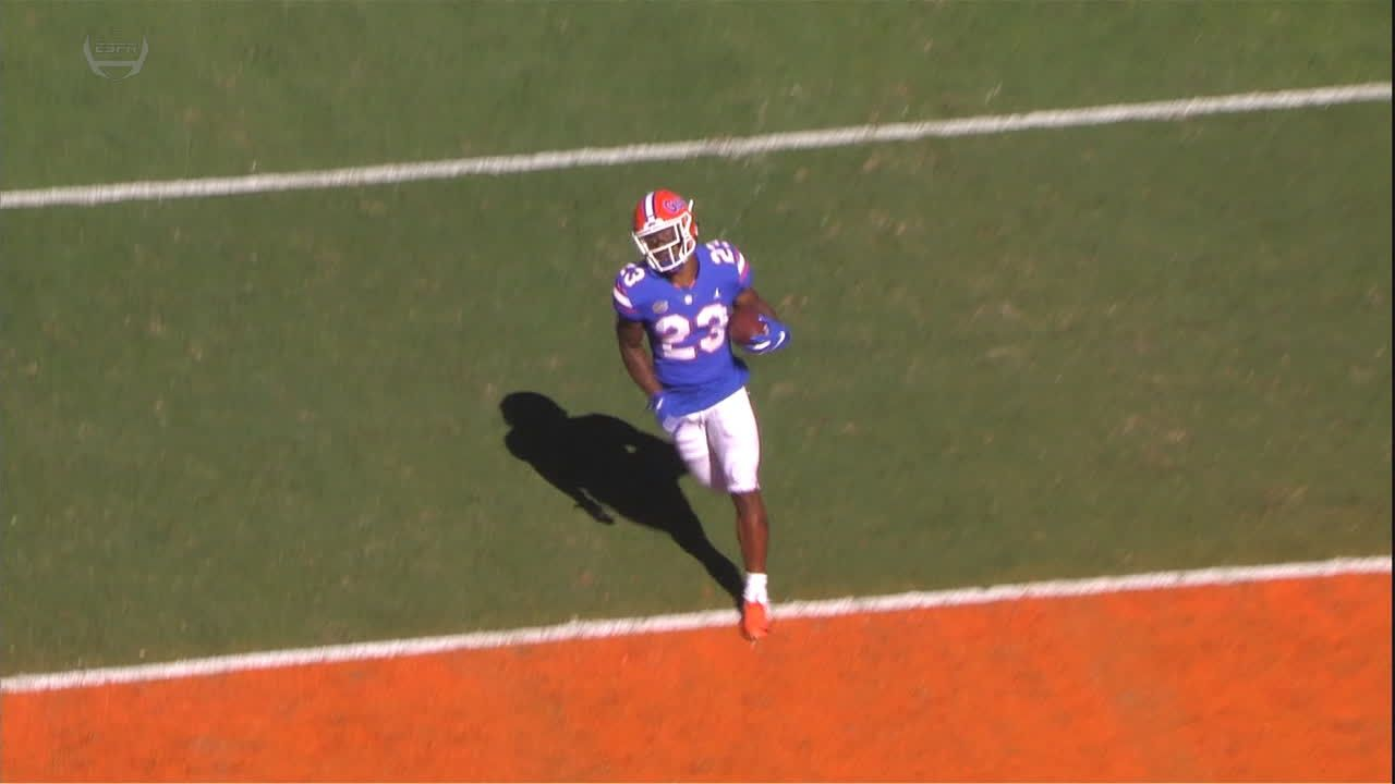 Gardner-Johnson gets Florida on board with immediate pick-6