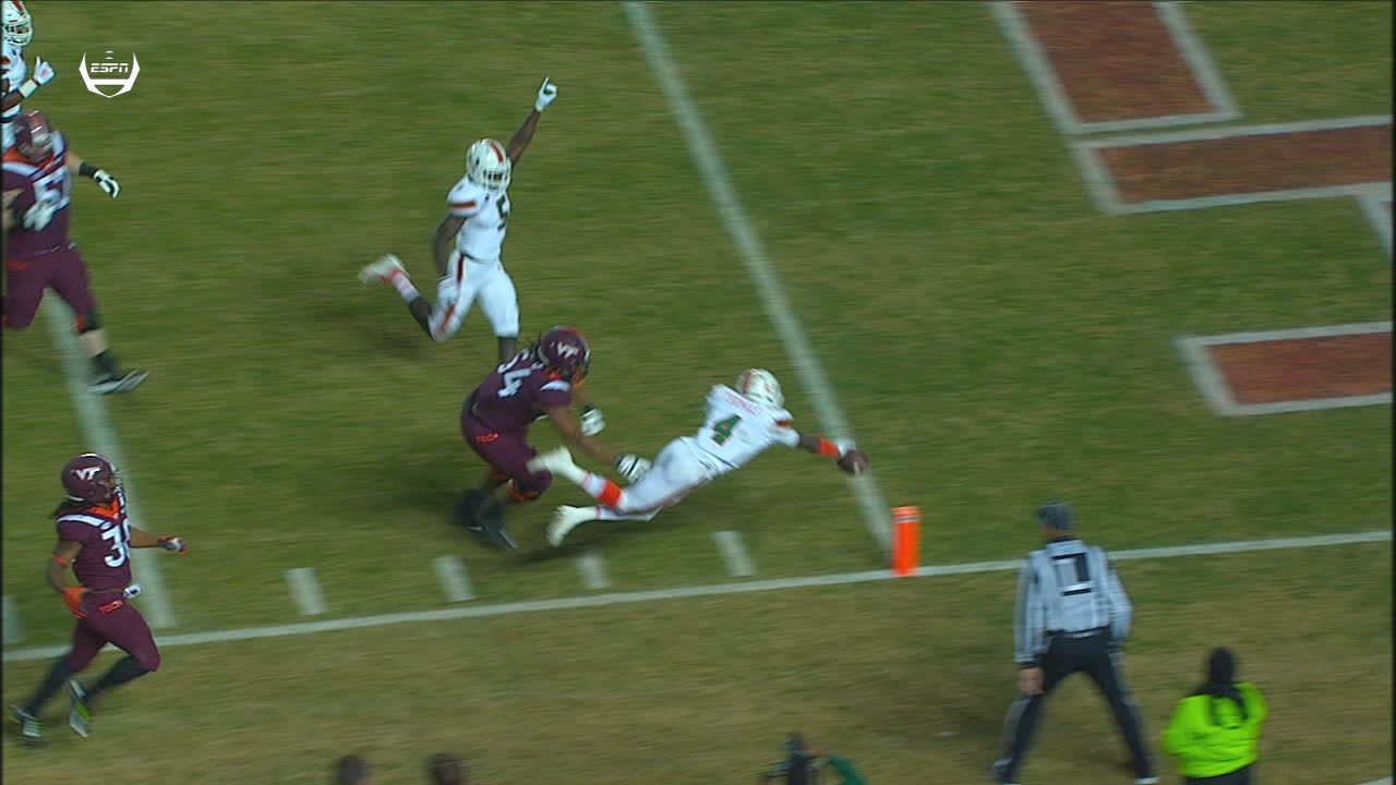 Miami returns punt 51 yards to the house