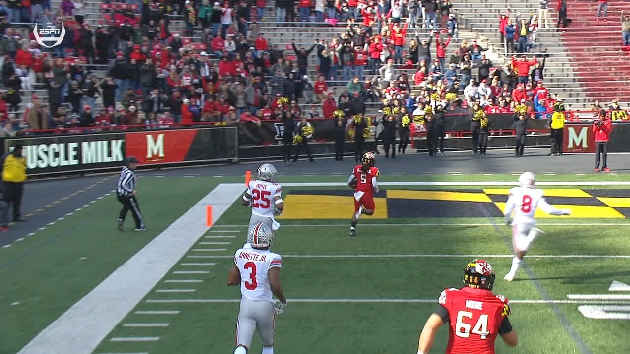 Maryland scores 81-yd TD to open game