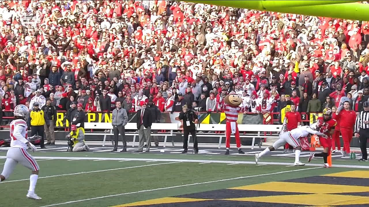 Terps' TD upheld after review