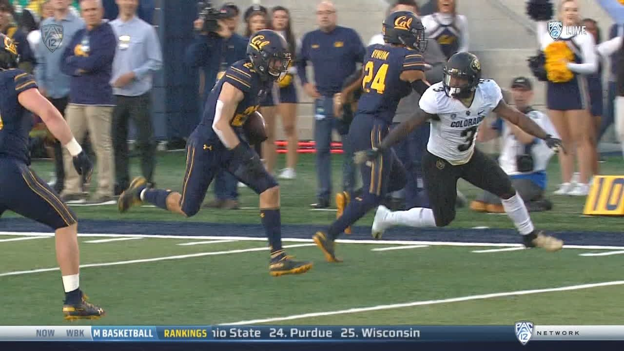 Cal gets second pick-6 in the first quarter