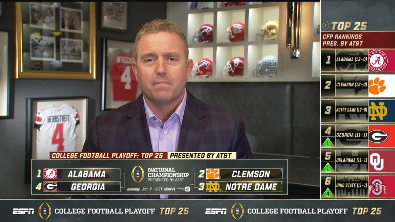 Herbstreit: 'Put your seat belt on' heading into championship week