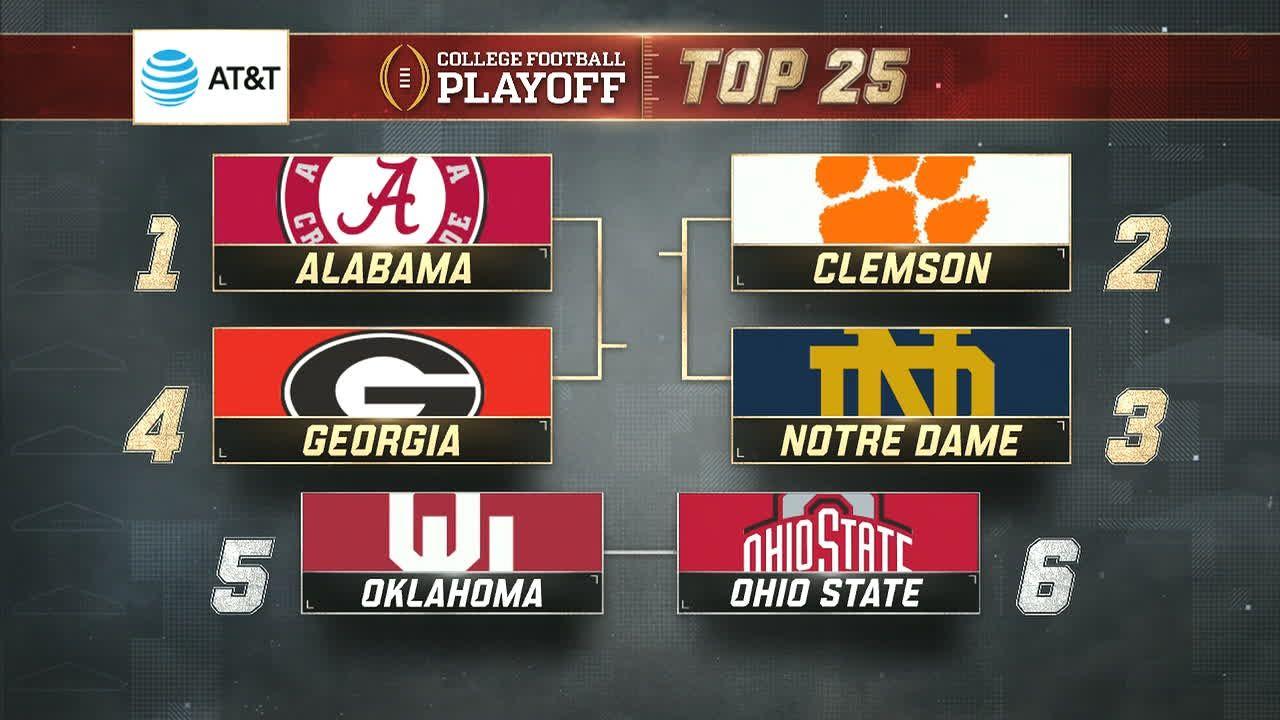 Georgia cracks the top four