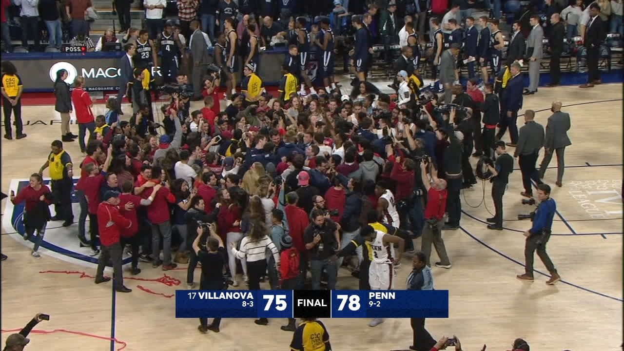 Penn almost makes monumental mistake, upsets No. 17 Nova