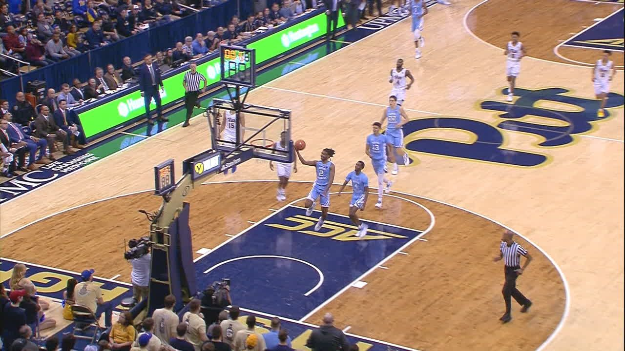 UNC's White beats the buzzer with a lay-in