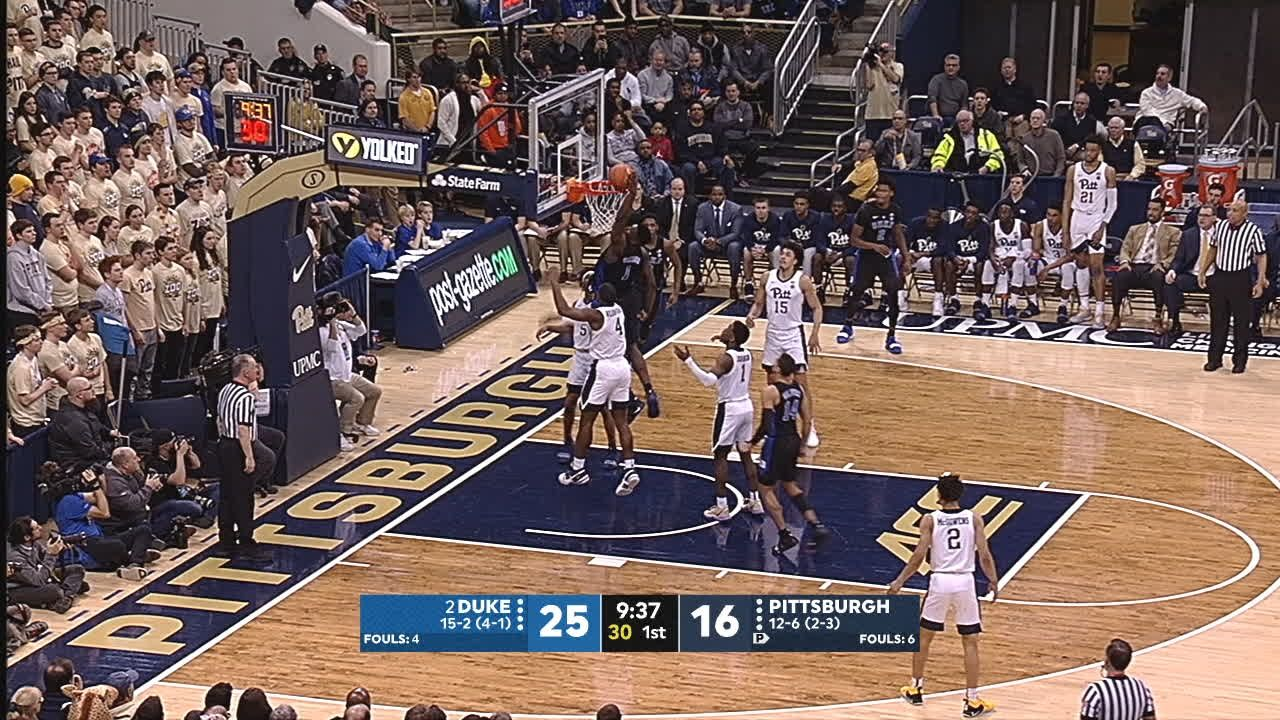 Zion cleans up Barrett's miss