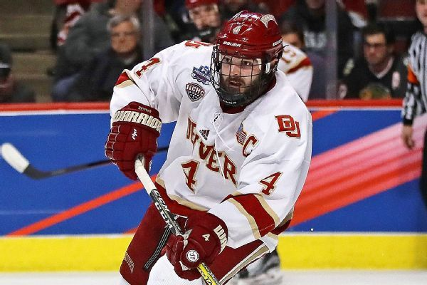 Devils agree to sign top college player Will Butcher to 2-year 909e2d355
