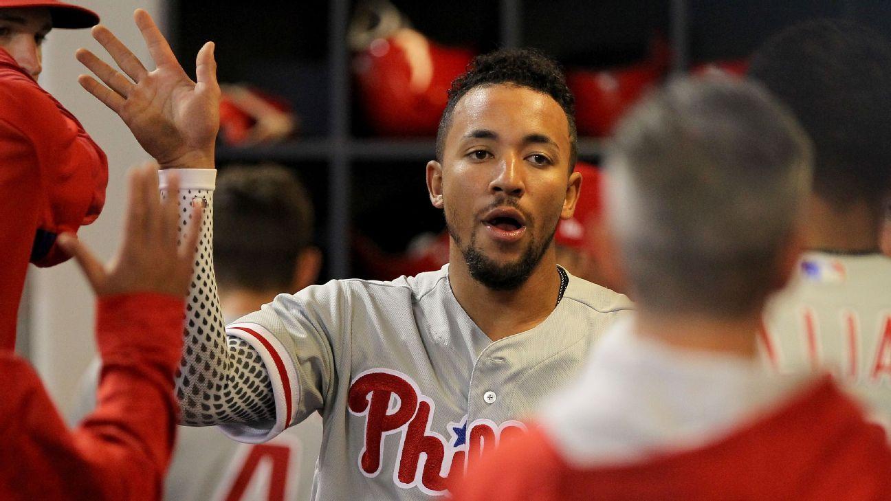 Broken Left Hand Will Sideline Phillies JP Crawford 4 6 Weeks