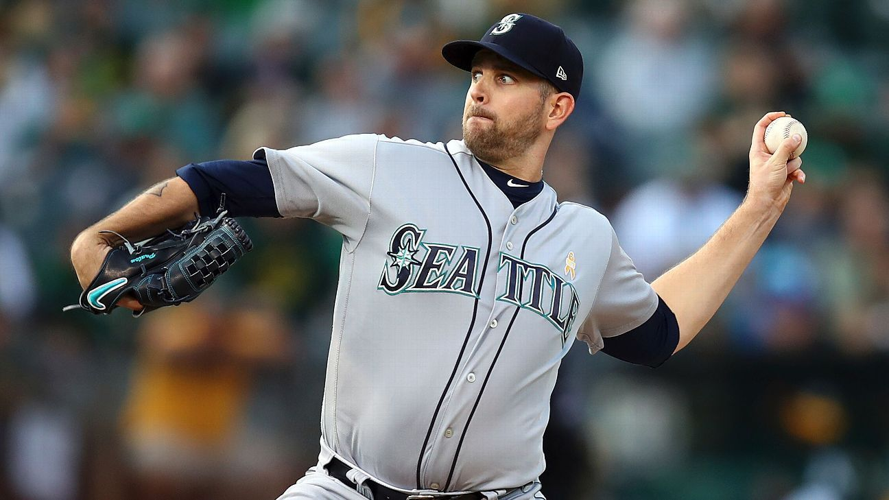 yankees land james paxton in trade send top prospect to mariners