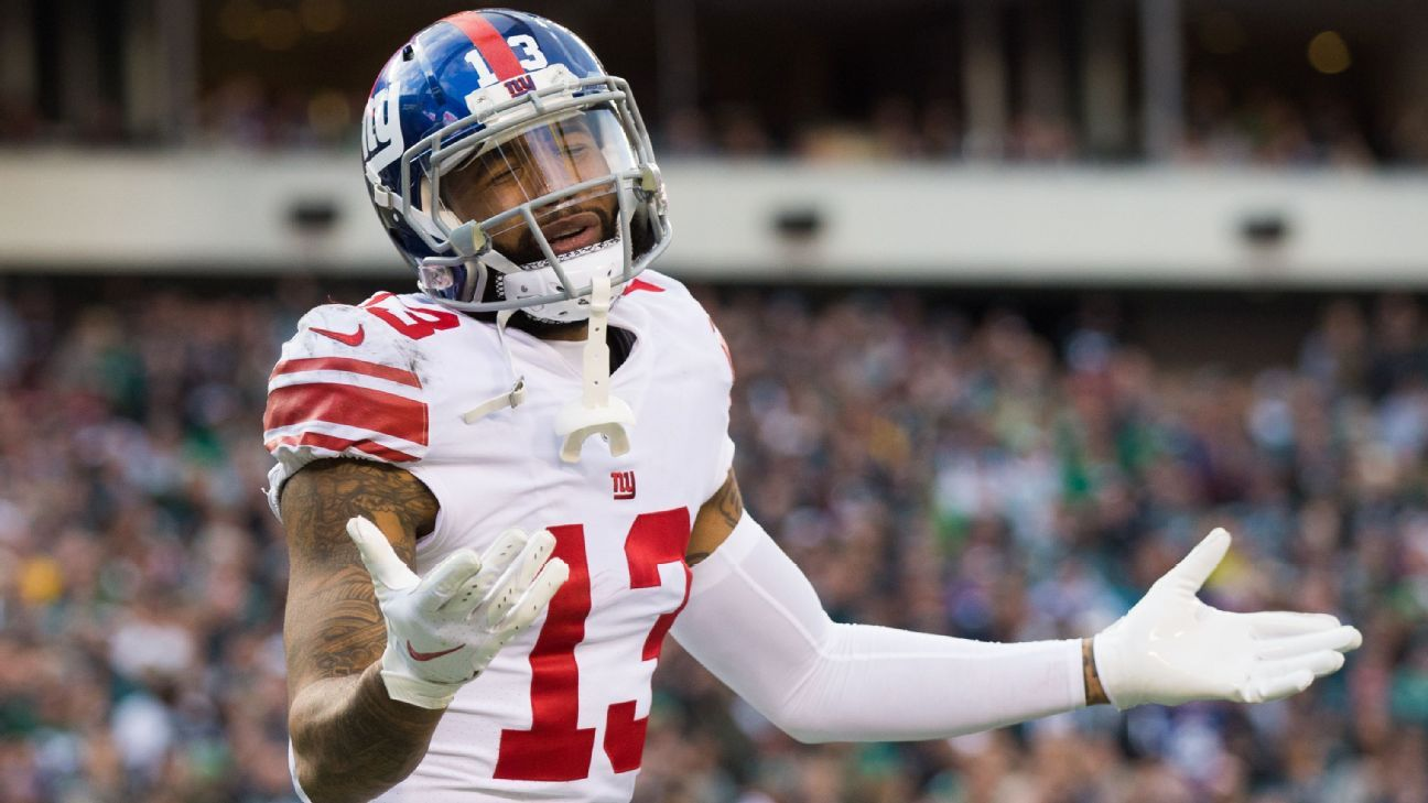 odell beckham attacking eagles depleted secondary wasn t in our
